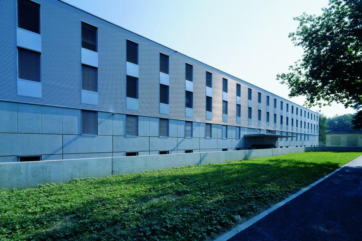 Mannschaftsunterkunft und Speisesaal Erzherzog- Johann-Kaserne Straß