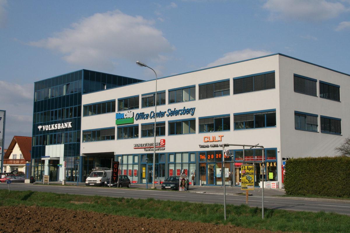 Geschäftsgebäude bluechip Office Center Seiersberg