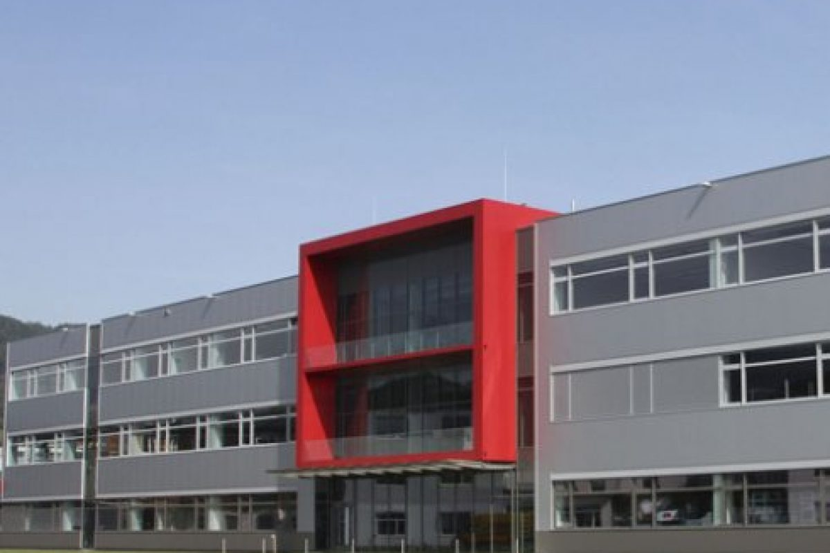 Neubau Montagezentrum Anton Paar