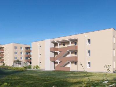 Wohnbau Herrgottwiesgasse