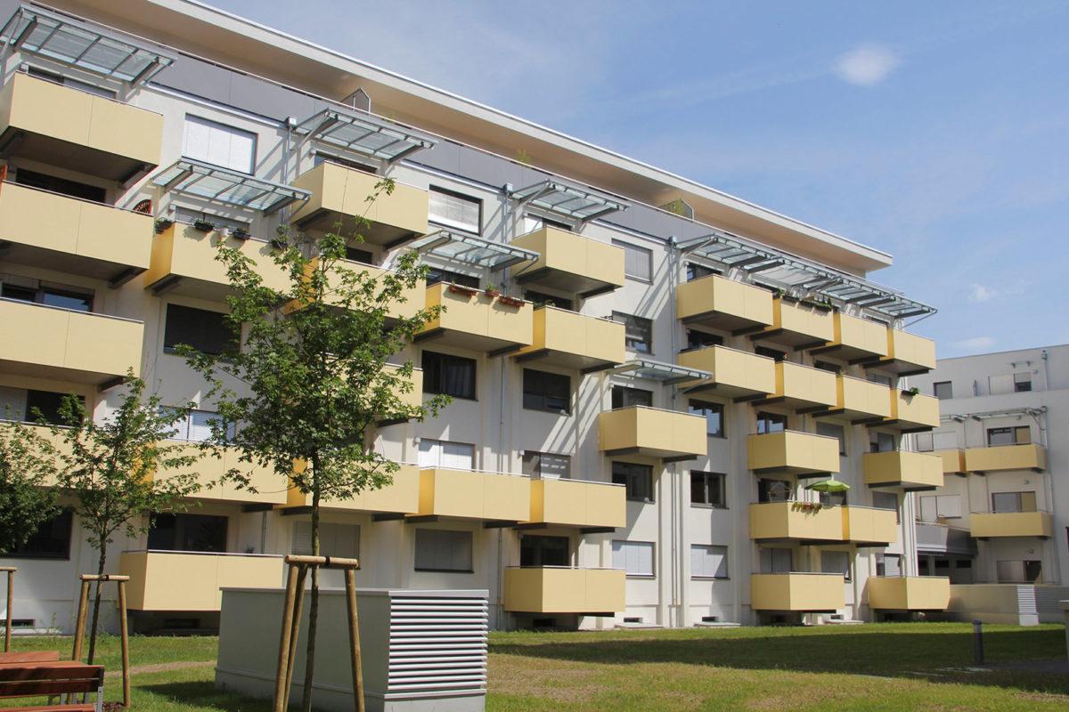 Um-, Zu- und Neubau Wohnbau Odilienweg 10-16